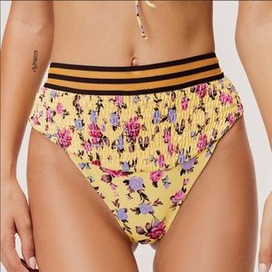 For Love and Lemons Paulina Ruched Bottom (NWT)